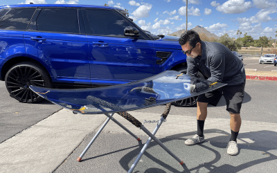 Range Rover Windshield Replacement in Scottsdale Arizona