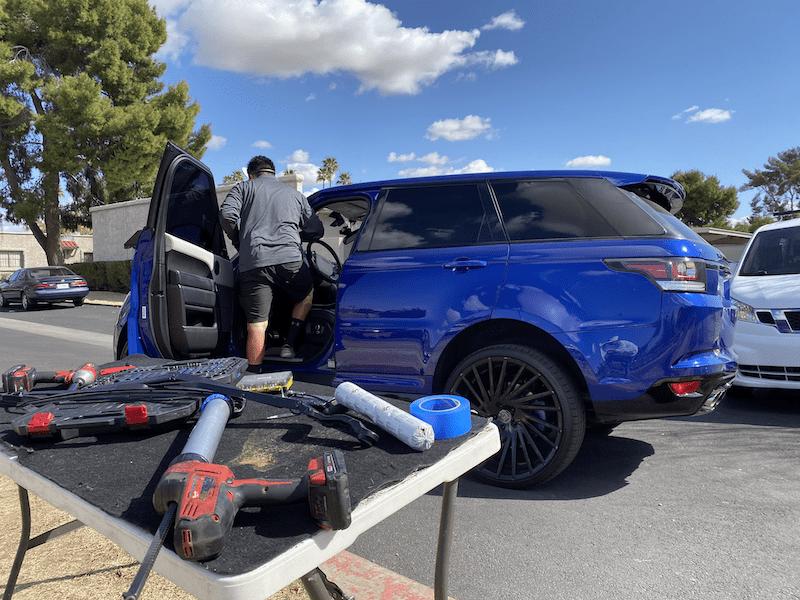 windshield replacement arizona land rover 5